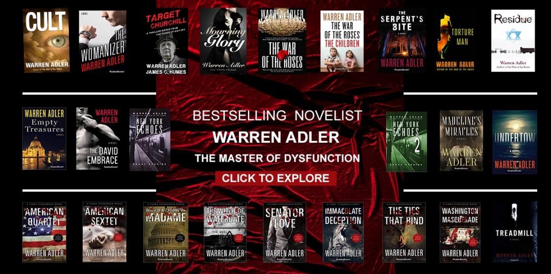 Warren Adler thriller books