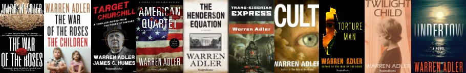 Check out the the bookshelf of warren adler