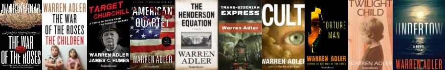 Check out the the bookshelf of warren adler
