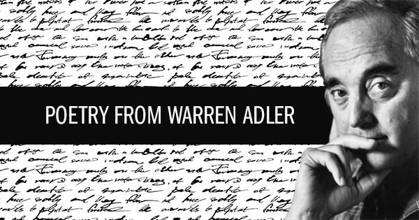 poetry from warren adler