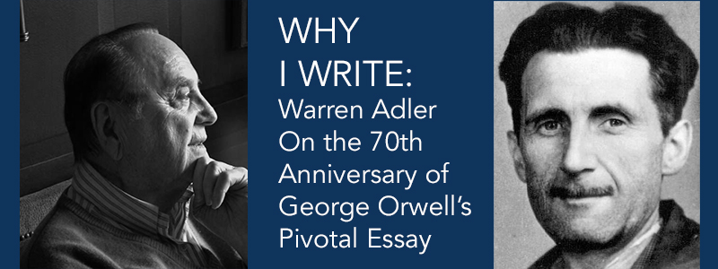 an analysis of george orwells essay why i write essay Essays and criticism on george orwell, including the works animal farm george orwell world literature analysis (masterpieces of world literature 'why i write' orwell in this essay explores the reasons that writers write.