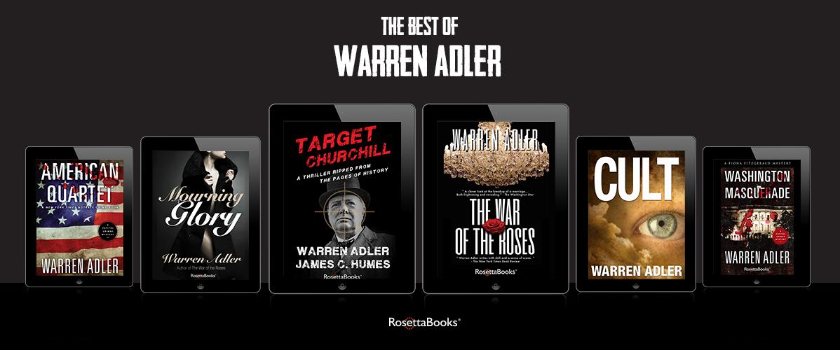 Warren Adler Books
