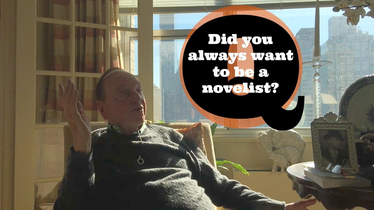 qa warren adler did you always want to be a novelist